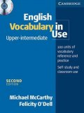 McCarthy, O´Dell: English vocabulary in use U-I   CD