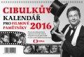 Aleš Cibulka: Cibulkův kalendář pro filmové pam. 2016