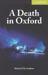 Richard MacAndrew: A Death in Oxford - plus CD
