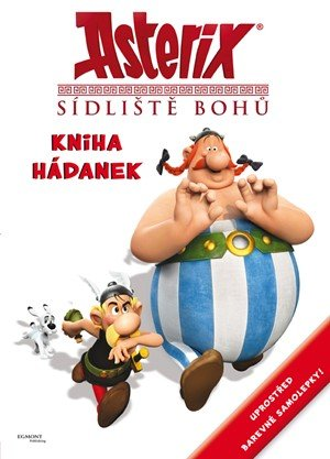 kolektiv: Asterix - Sídliště bohů - kniha hádanek