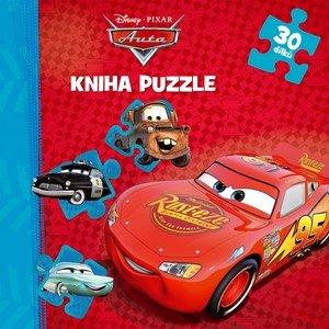 autora nemá: Auta - Kniha puzzle - 30 dílků