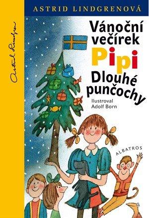 Astrid Lindgrenová: Vánoční večírek Pipi Dlouhé punčochy