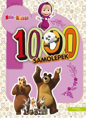 O. Kuzovkov: Máša a medvěd - 1000 samolepek