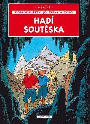Hergé: Jo, Zefka a Žoko (5) - Hadí soutěska