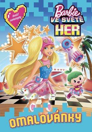 kolektiv: Barbie ve světě her  Omalovánky