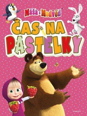 autora nemá: Máša a medvěd - Čas na pastelky