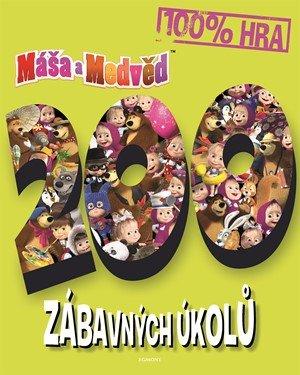 kolektiv: Máša a medvěd - 200 zábavných úkolů
