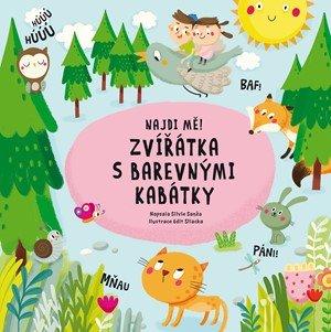 Silvie Sanža: Najdi mě! Zvířátka s barevnými kabátky