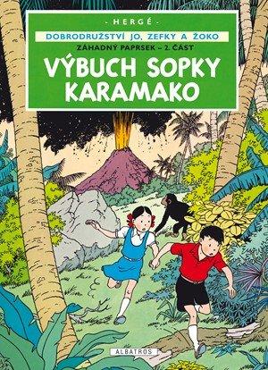 Hergé: Jo, Zefka a Žoko (4) - Výbuch sopky Karamako