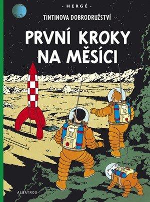 Hergé: Tintin 17 - První kroky na Měsíci