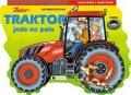 : Traktor jede na pole