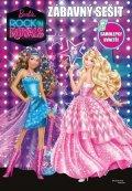 Mattel: Barbie - Rock´n Royals - Zábavný sešit - Samolepky uvnitř!