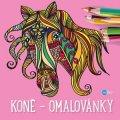 Yulia Mamonova: Koně - omalovánky