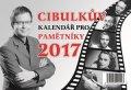 Aleš Cibulka: Cibulkův kalendář pro pamětníky 2017