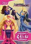 Mattel: Barbie - Tajná agentka - Filmový příběh - Vybarvuj, čti si, nalepuj