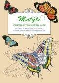 Peter  Lindmark: Motýli - omalovánky (nejen) pro velké