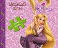 Walt Disney: Na vlásku - Kouzelné vlasy - Kniha puzzle