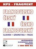 : Fr.-čes. a čes.-fr. slovník (malý plast)