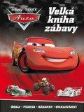 Pixar: Auta - Velká kniha zábavy - Úkoly, pexeso, hádanky, omalovánky