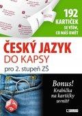 Jana Eislerová: Český jazyk do kapsy pro 2. stup. ZŠ  (192 kartiček)