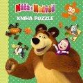 : Máša a Medvěd - Kniha puzzle 30 dílků