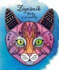 : Zápisník pro holky - kočky a mandaly