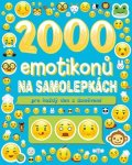 kolektiv: 2000 emotikonů na samolepkách pro každý den s úsměvem