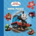 autora nemá: Tomáš a jeho přátelé - Kniha puzzle - 30 dílků