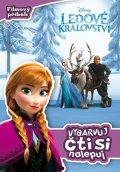 Walt Disney: Ledové království - Filmový příběh - Vybarvuj, čti si, nalepuj