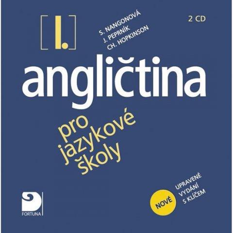Nangonová Stella, Peprník Jaroslav, Hopkinson Ch.: Angličtina pro jazykové školy I. - Nová - 2 CD