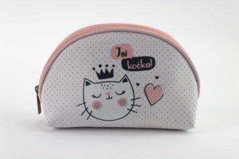neuveden: Kosmetická taštička M Jsi kočka