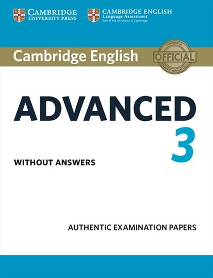 neuveden: Cambridge English Advanced 3 Student´s Book without Answers