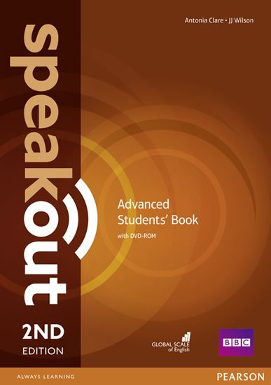 Clare Antonia: Speakout 2nd Edition Advanced Students´ Book w/ DVD-ROM Pack