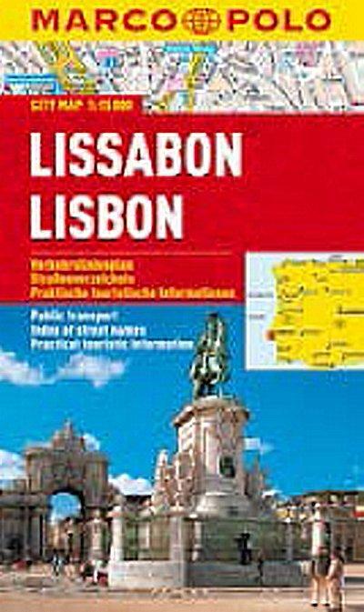 neuveden: Lissabon/Lisbon - City Map 1:15000