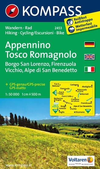 neuveden: Appennino Tosco Romagnolo 2453 / 1:50T NKOM