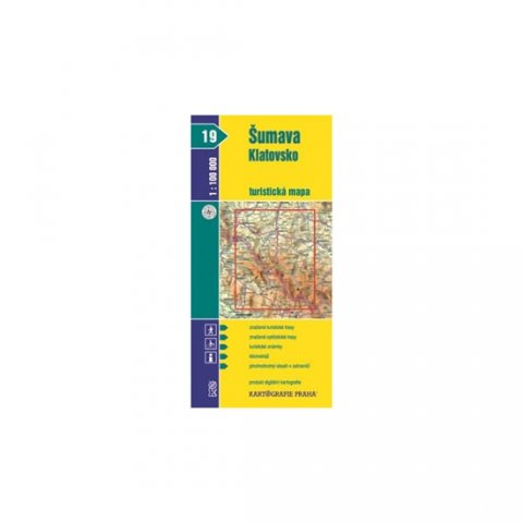 neuveden: 1:100T (19)-Šumava - Klatovsko (turistická mapa)