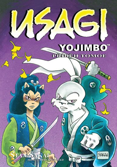 Sakai Stan: Usagi Yojimbo - Příběh Tomoe