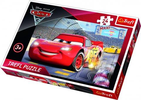 neuveden: Auta 3: Puzzle MAXI 24 dílků