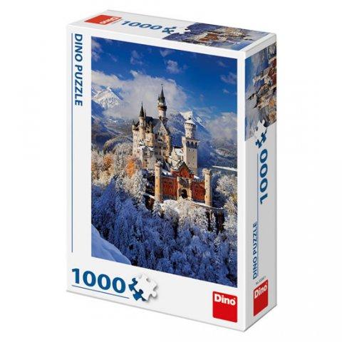 neuveden: Neuschwanstein v zimě: puzzle 1000 dílků
