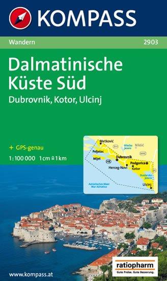 neuveden: Dalmatinische Küste Süd 2903 / 1:100T NKOM