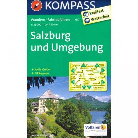 neuveden: Salzburg und Umgebung 017 / 1:25T NKOM