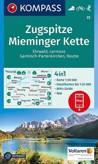 neuveden: Zugspitze, Mieminger Kette  25  NKOM