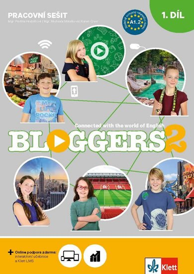 neuveden: Bloggers 2 (A1.2) – 2dílný pracovní sešit + žákovská licence