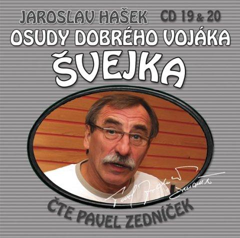 Hašek Jaroslav: Osudy dobrého vojáka Švejka 19-20 - 2CD