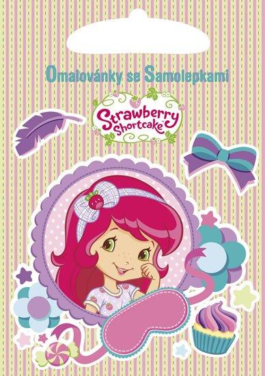neuveden: Strawberry - Omalovánky A5 se samolepkami