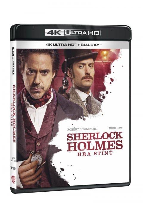neuveden: Sherlock Holmes: 4K Ultra HD + Blu-ray