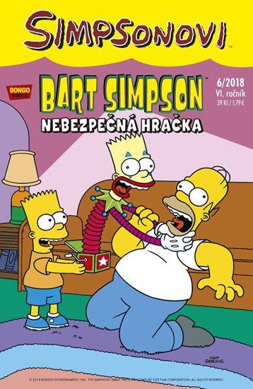 kolektiv autorů: Simpsonovi - Bart Simpson 8/2018 - Nebezpečná hračka