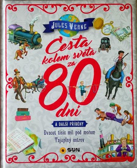 Verne Jules: Cesta kolem světa za 80 dní a další příběhy - Dvacet tisíc mil pod mořem, T
