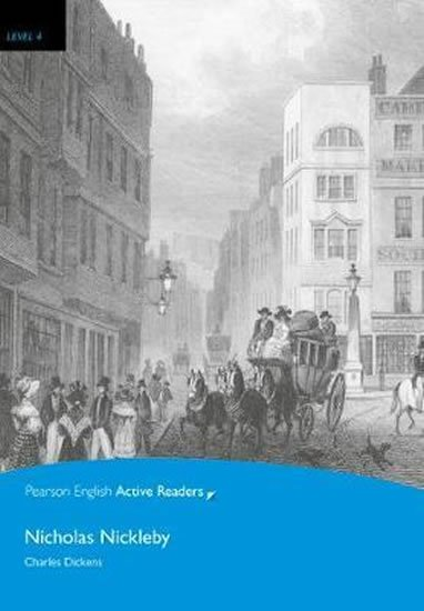 Dickens Charles: Level 4: Nicholas Nickleby Book and CD-ROM Pack
