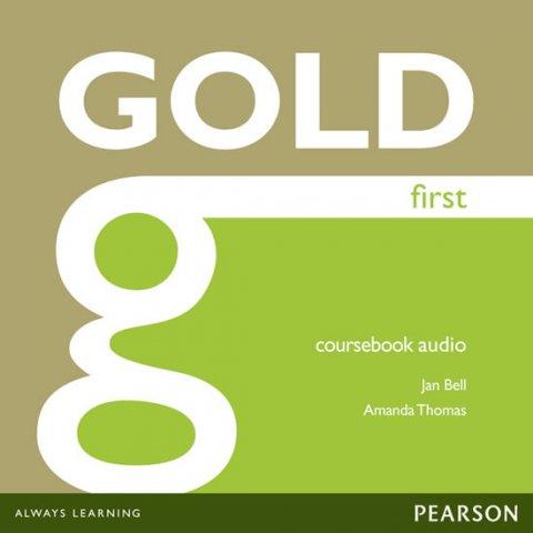 Bell Jan: Gold First 2012 Coursebook Audio CDs